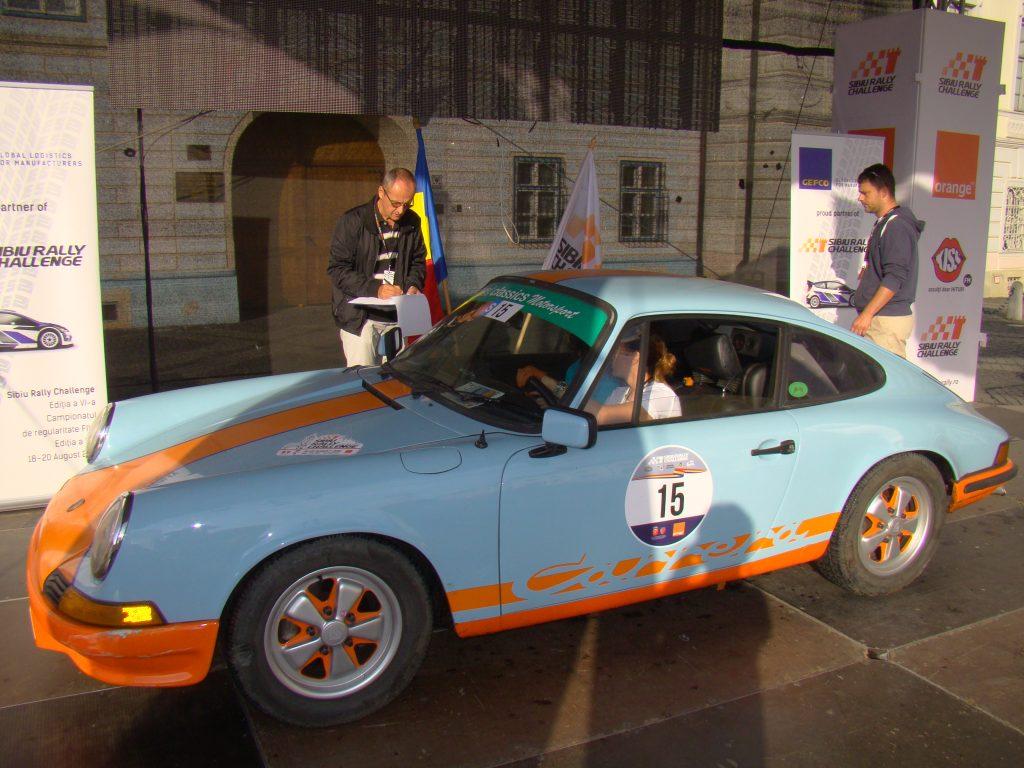 BUCOVICEAN Mirela / GOLOGAN Georgiana - Porsche 911 E (1969) Foto: Mircea Ursache