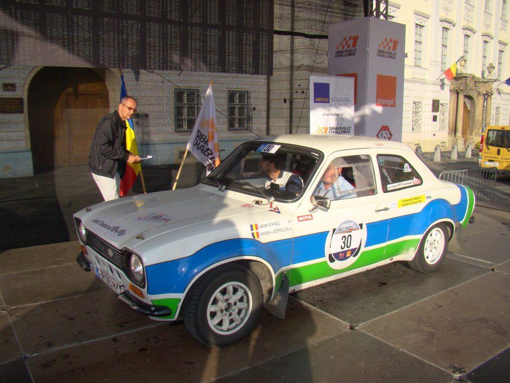 STANCIU Gabriel / IANCU Bogdan - Ford Escort MK1 (1975) Foto: Mircea Ursache
