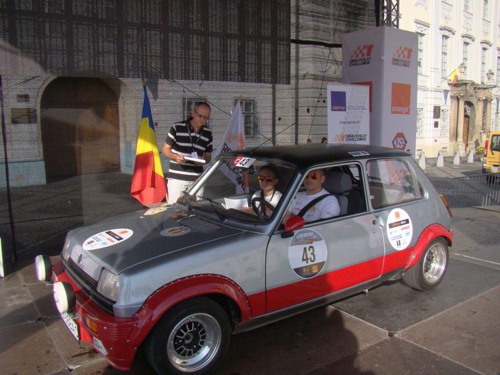FILIP Alexandru / FILIP Maria - Renault 5 Alpine Turbo (1984) Foto: Mircea Ursache