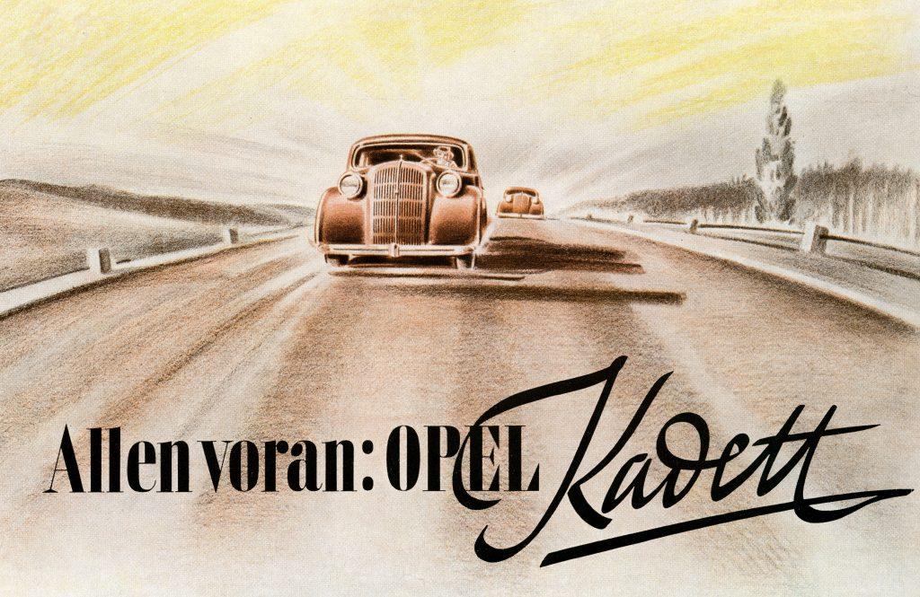 80 Years Opel Kadett