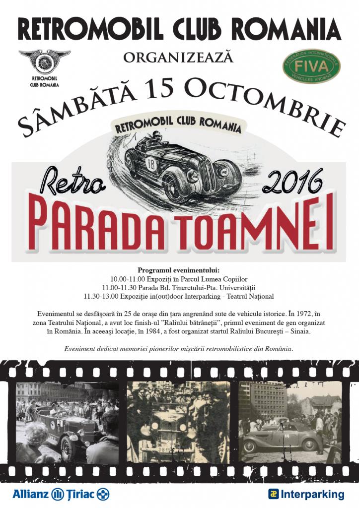 Retro Parada Toamnei 2016