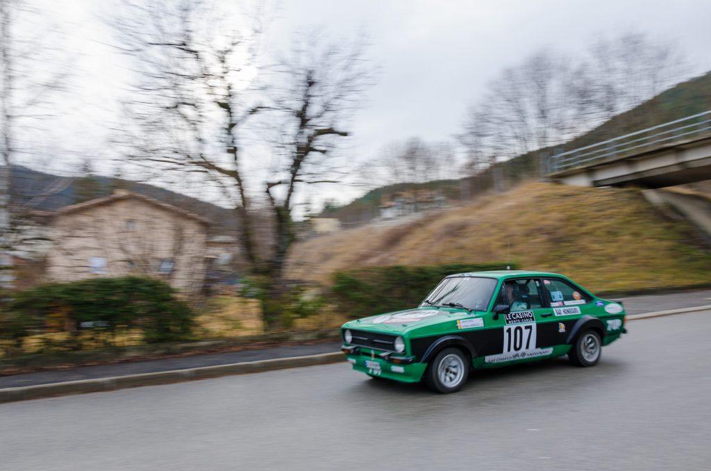 RMCH 2017 Gabi Stanciu/ Georgios Ladopoulos Ford Escort MK2 Foto: Mircea Popa/ Motor Clasic Magazin