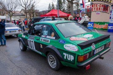 Echipaje românești Just Classics Motorsport au ajuns în zona de regrupare Saint-Andre-les Alpes, RMCH 2017