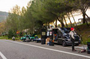 Gabriel Stanciu/ Georgios Ladopoulos, Ford Escort MKII Rallye Monte-Carlo Historique 2017, by Mircea Popa