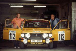 Georgios Ladopoulos și Ștefan Vasile Dacia 1310 Acropolis Rally 2015
