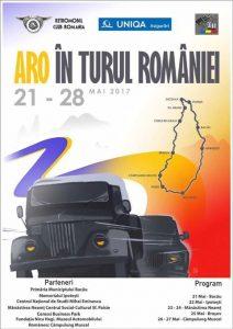 """Raidul """"ARO în turul României"""" – 21-28 mai 2017"""