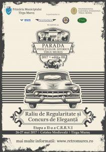 Parada Vehiculelor Istorice – Târgu Mureș  26-28 mai