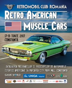 Retro American Muscle Cars 2017