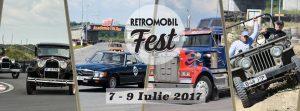 Programul RETROMOBIL FEST 2017 (8-9 iulie)