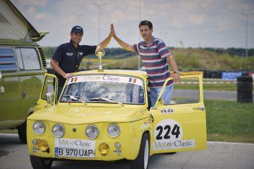 "Adrian Dragan și Mihai Bercioiu, trofeul ""Efort Eroic"" Motor Clasic Magazin"