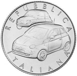 Fiat 500, sărbătorit printr-o ediție limitată de monede de argint în Italia