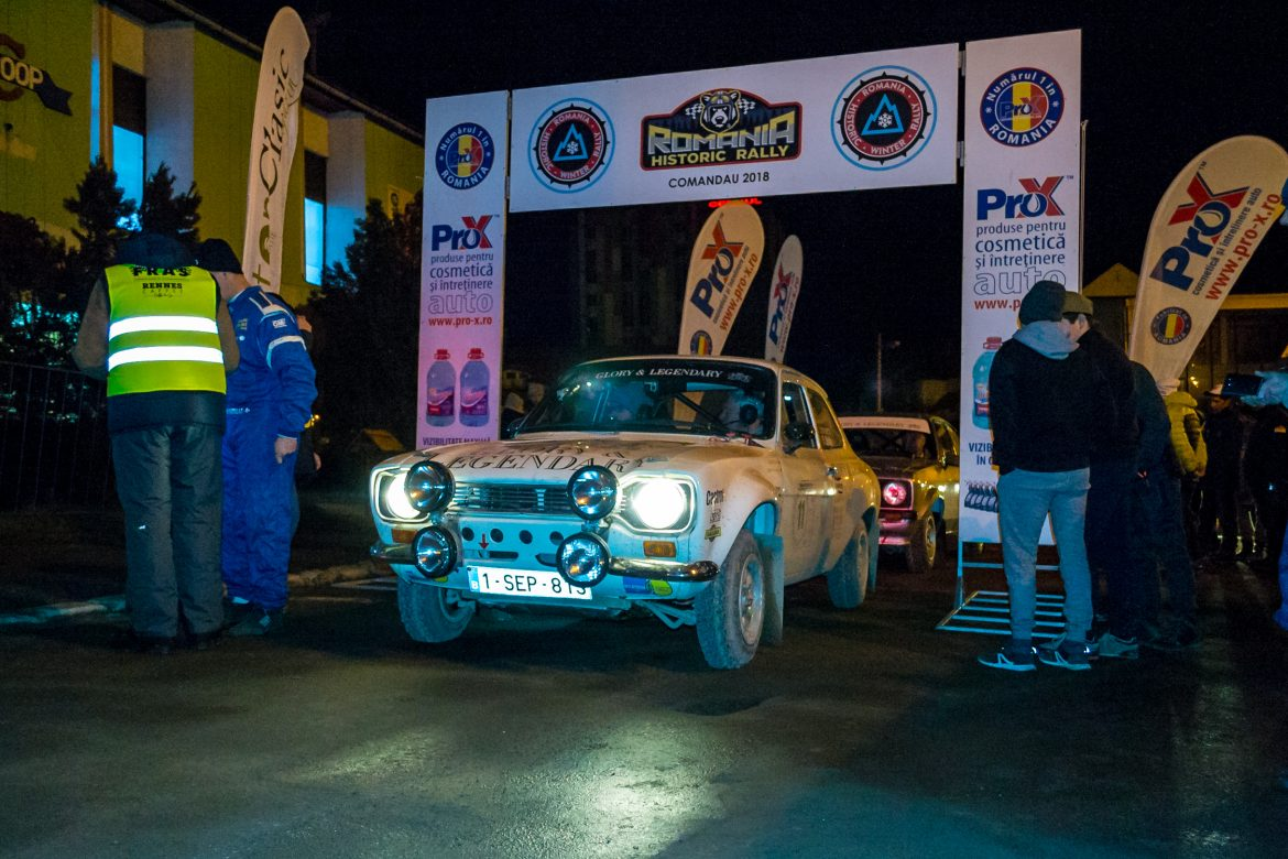 Romania Historic Winter Rally 2018. Foto: Dragos Zaharia