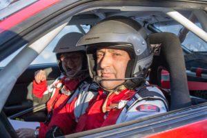 Laurent Battut și Valerie Dumont  Toyota Celica GT4,