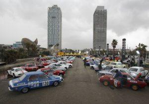 Start Rallye Monte Carlo Historique 2018_Barcelona