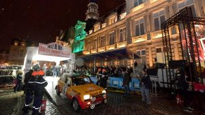 Start Rallye Monte Carlo Historique 2018_Reims