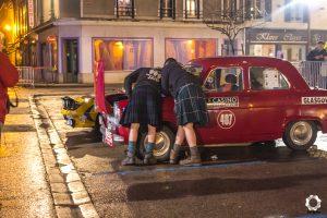Start Rallye Monte Carlo Historique 2018_Glasgow