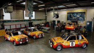 Patru modele Renault 5 Alpine Grupa 2 înscrise de Renault Clasique