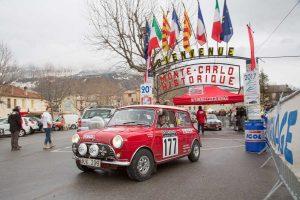 Start Rallye Monte Carlo Historique 2018_Bad Homburg_Rauno Aaltonen (Mini)