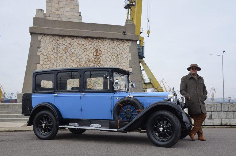 Gabriel Bălan/ Fiat 520 (1926) Foto:MotorClasicMagazin