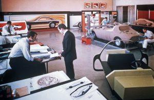 Locul unde visurile devin realitate: Centrul de Design din Rüsselsheim, a fost primul centru de acest gen pentru un producător European la începutul anuilor 1960.