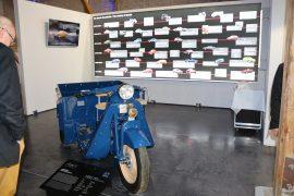 Triciclul Mazda a fost produs începând cu 1931 - acesta fiind un vehicul utilitar cu destinație polivalentă