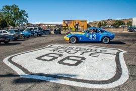 USA-Tour 50 de ani Opel-GT- 1968-2018: Route 66 Kingman, Arizona.