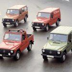 40 de ani de la lansarea emblematicului Mercedes-Benz Clasa G