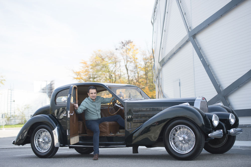 Automobile de colecție – 1938 Bugatti Type 57 Coach Ventoux