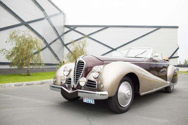 Delahaye 135 M Cabrio Antem 1947