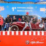 Alfa Romeo triumfătoare în 1000 Miglia 2019: locurile 1 şi 2!