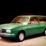 Alfa Romeo Alfasud Giardinetta – break tradițional sau shooting break?