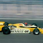 Prima victorie a unui motor turbo în Formula 1