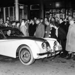 Un Jaguar XK120 Ex-Stirling Moss în oferta unui dealer