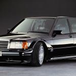 30 de ani de la ultima versiune sportivă a Mercedes-ului 190 W201