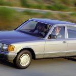 40 de ani de la lansarea Mercedes-ului Clasa S W126