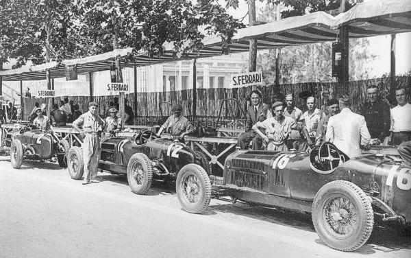90 de ani Scuderia Ferrari