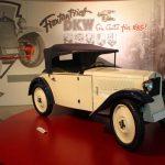 DKW Front F1 (1931). Corp auto, inimă moto.
