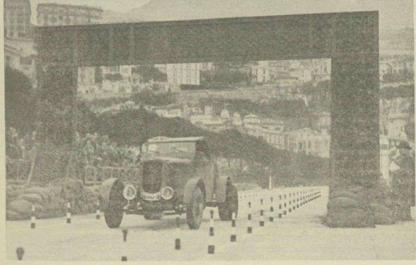Petre Cristea - Monte Carlo 1937