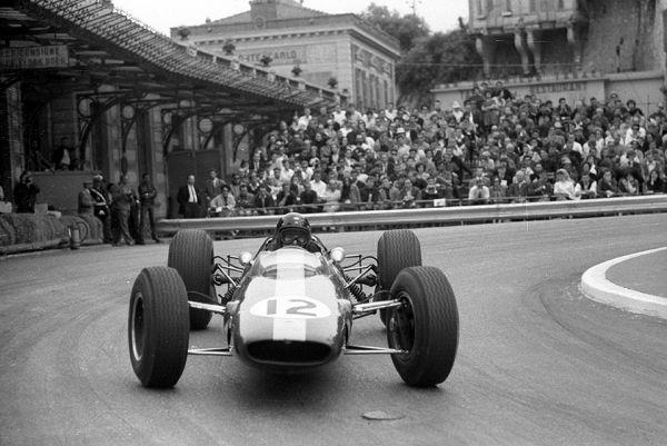 Jim Clark la Monaco 1964
