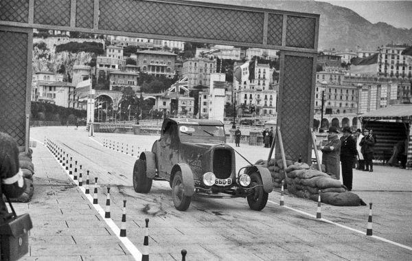 Petre Cristea - Raliul Monte Carlo 1936