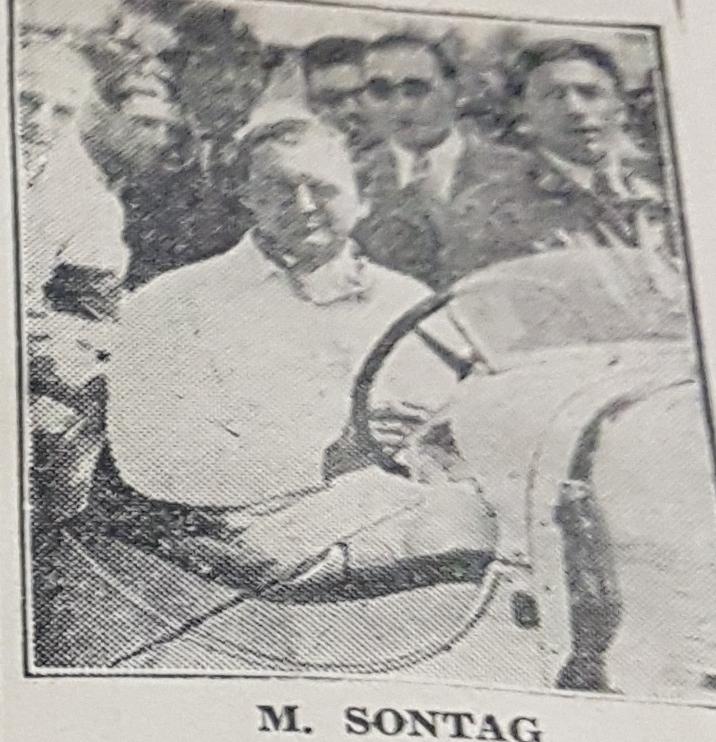 Sontag a fost unicul proprietar de Maserati 8CM din Romania