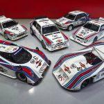 O colecție fascinantă de modele Lancia de competiție este de vânzare