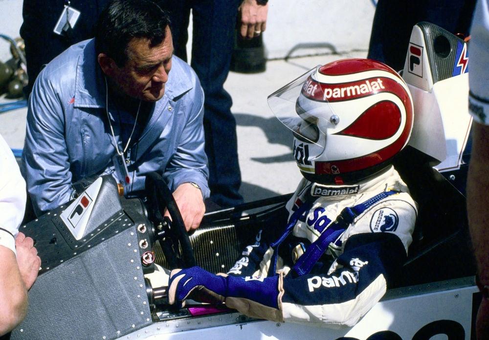 Paul Rosche și Nelson Piquet