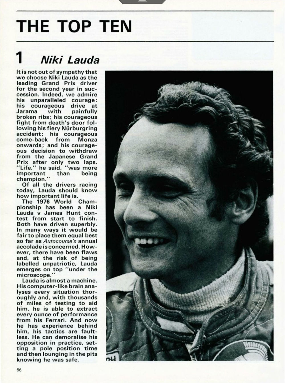Formula 1 Niki Lauda - Omul care a sfidat moartea