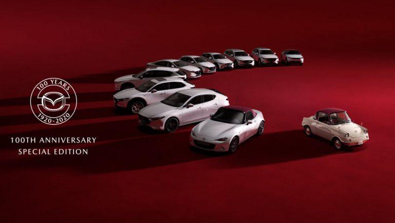 Mazda editie aniversara 100 de ani