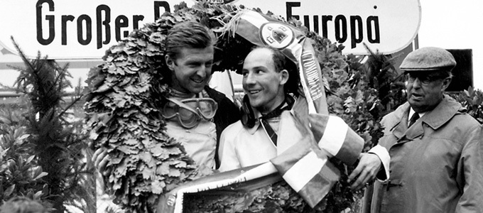 Stirling Moss- GP Germania 1961