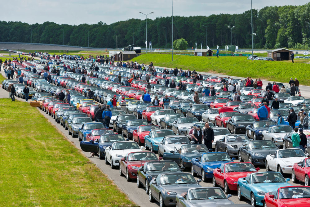 Mazda 100 de ani de recorduri