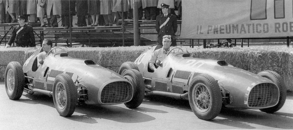 Ferrari şi Indy: o poveste de dragoste cu multe meandre. Partea I: anii '50