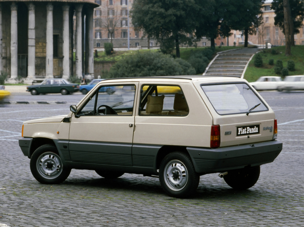 Bestsellerul Fiat Panda