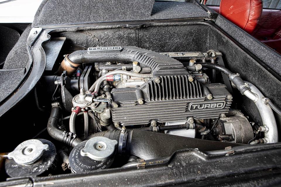 Lotus-ul Esprit Turbo al fondatorului firmei Colin Chapman este de vânzare